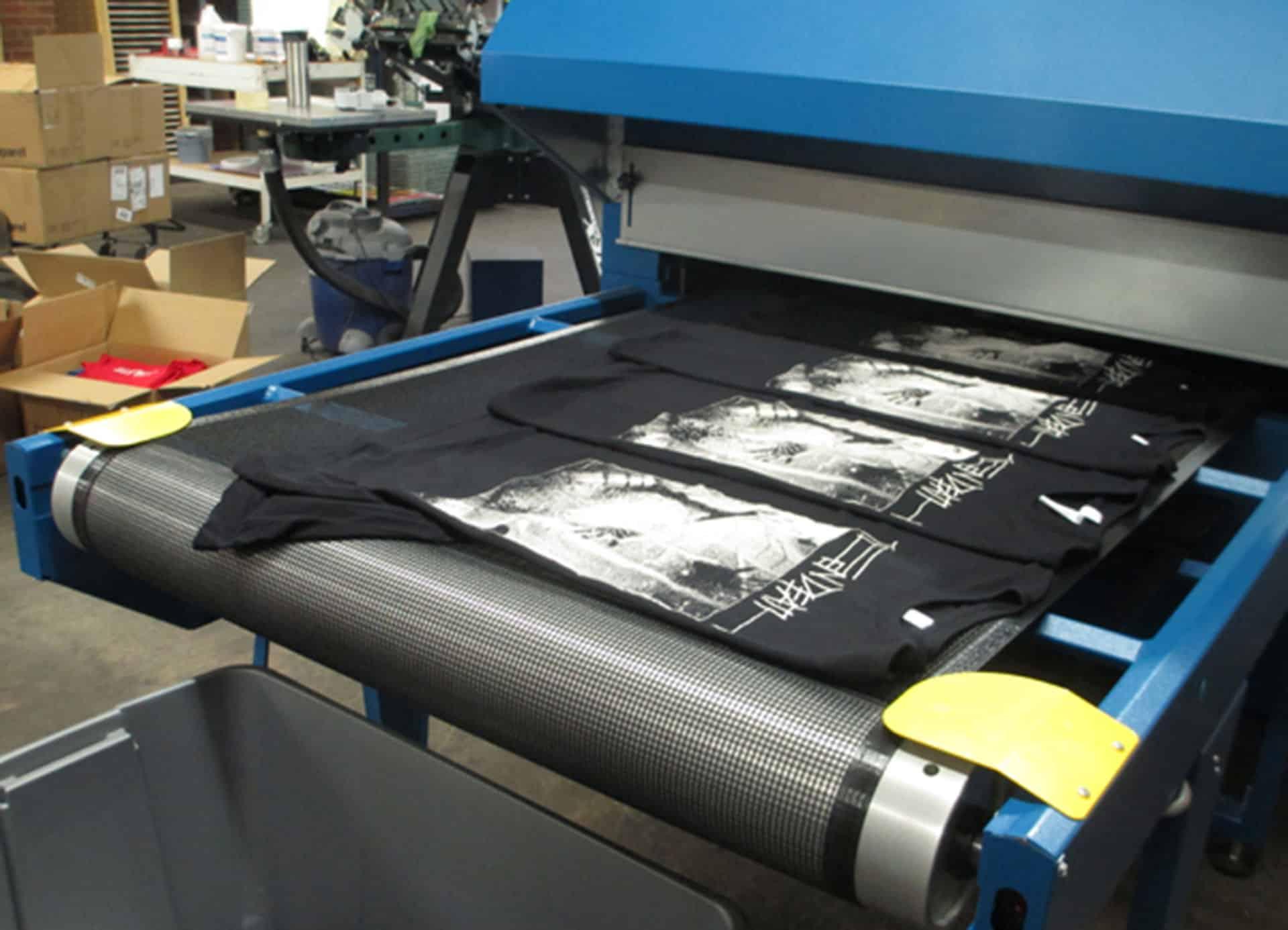 termo sušara termo sušenje tekstila majice