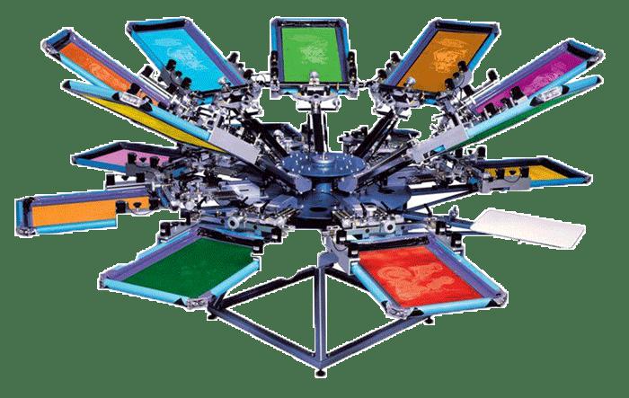 rotaciona sito štamparska mašina karusel