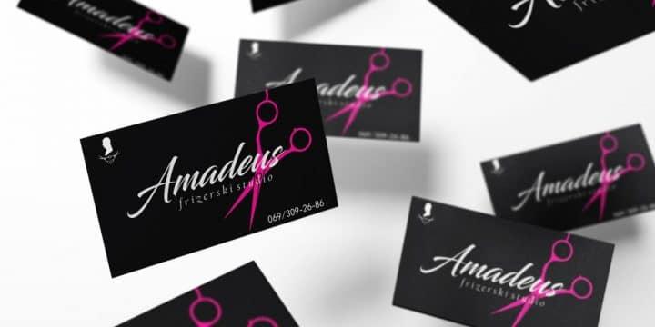 Studio Amadeus vizit karte