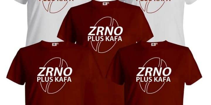 """Zrno Plus Kafa"" majice"