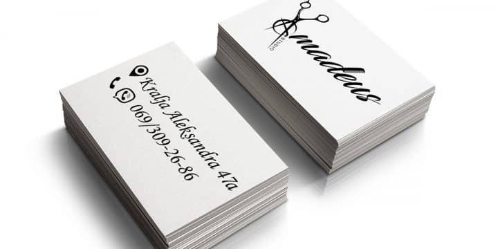 """Studio Amadeus"" vizit kartice 3"