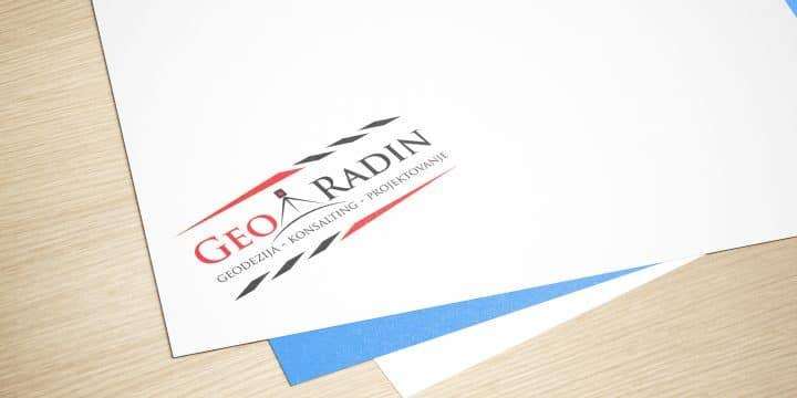 "Logo dizajn ""Geo Radin"""
