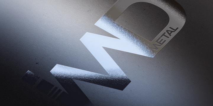 """IMD metal"" Logo Dizajn"