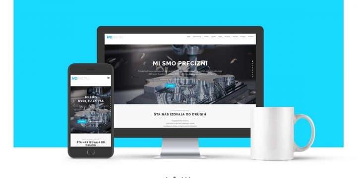 Veb dizajn imdmetal-ar.com
